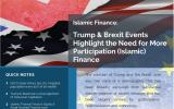 Trump & Brexit Highlight the Need for more Participation/Islamic Finance